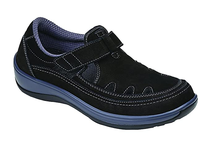Orthofeet Comfort Arch Support T-Strap Shoes