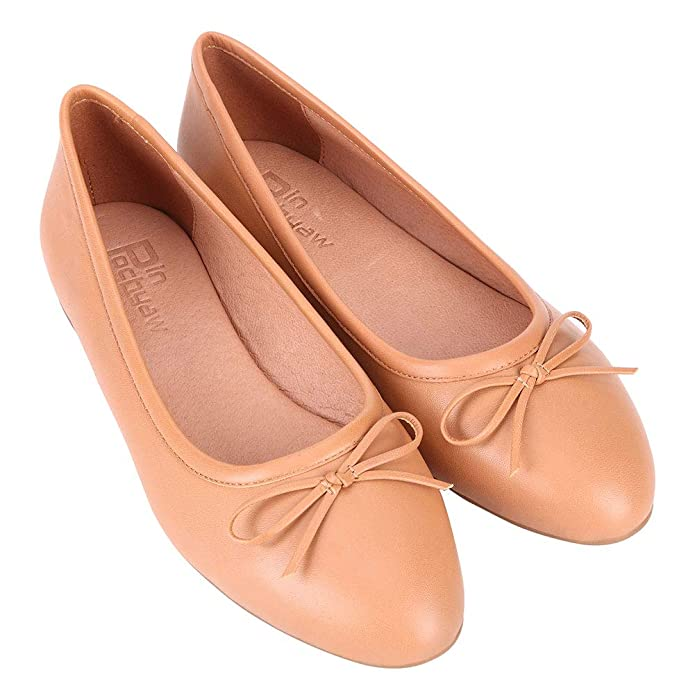 Pinpochyaw Ballet Flats for Women Slip On