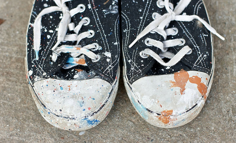 Methods for Removing Paint from Your Shoes